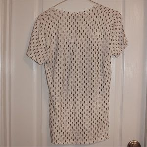 Lucky Brand Tops - NWT Lucky Brand Paisley Tee Small Casual T Shirt